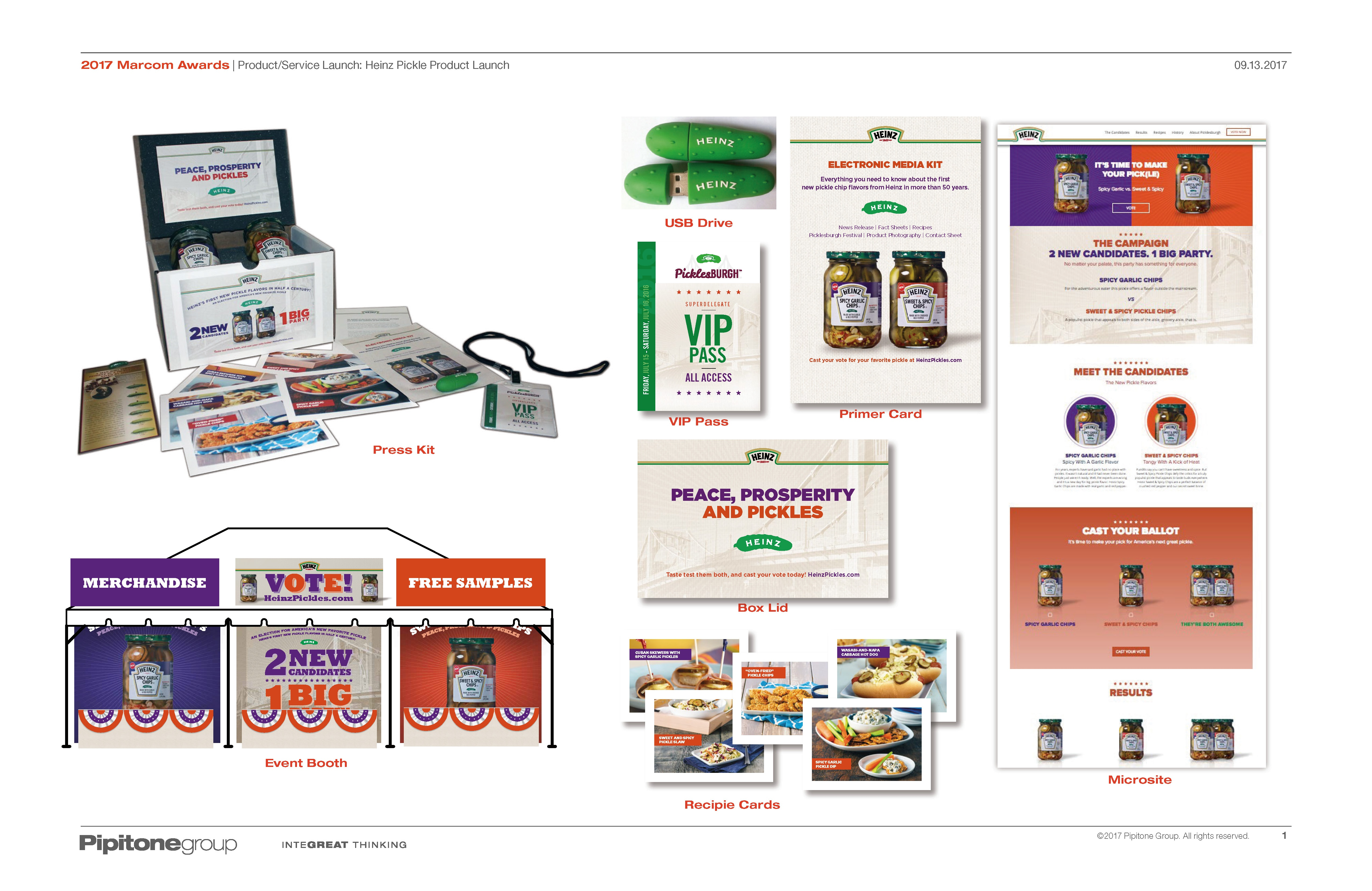 2017 Marcom Awards - Product Service Launch - Heinz Pickle Product Launch.jpg
